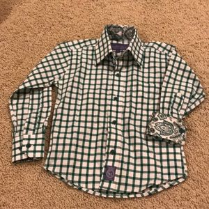 Other - Boys long sleeve button down dress shirt